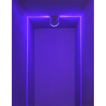 Настенный светодиодный светильник с пультом ДУ Odeon Light Arrow 3916/9CL, IP65, LED 9W 4000K + RGB 450lm, белый, металл - миниатюра 6