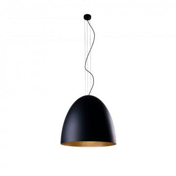 Подвесной светильник Nowodvorski Egg L 9024, IP44, 5xE27x40W, черный, металл