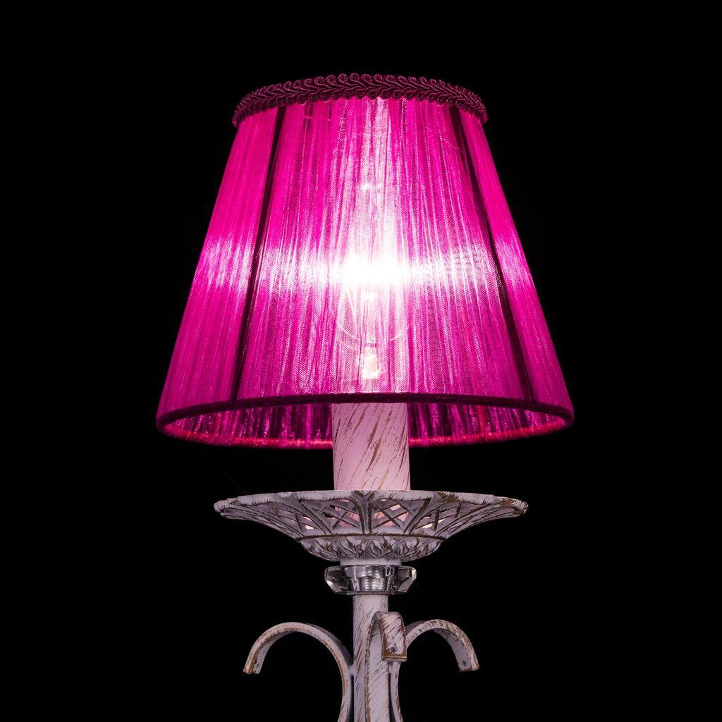 Абажур Citilux Марлен Джесси 116-051, фиолетовый, текстиль - фото 2