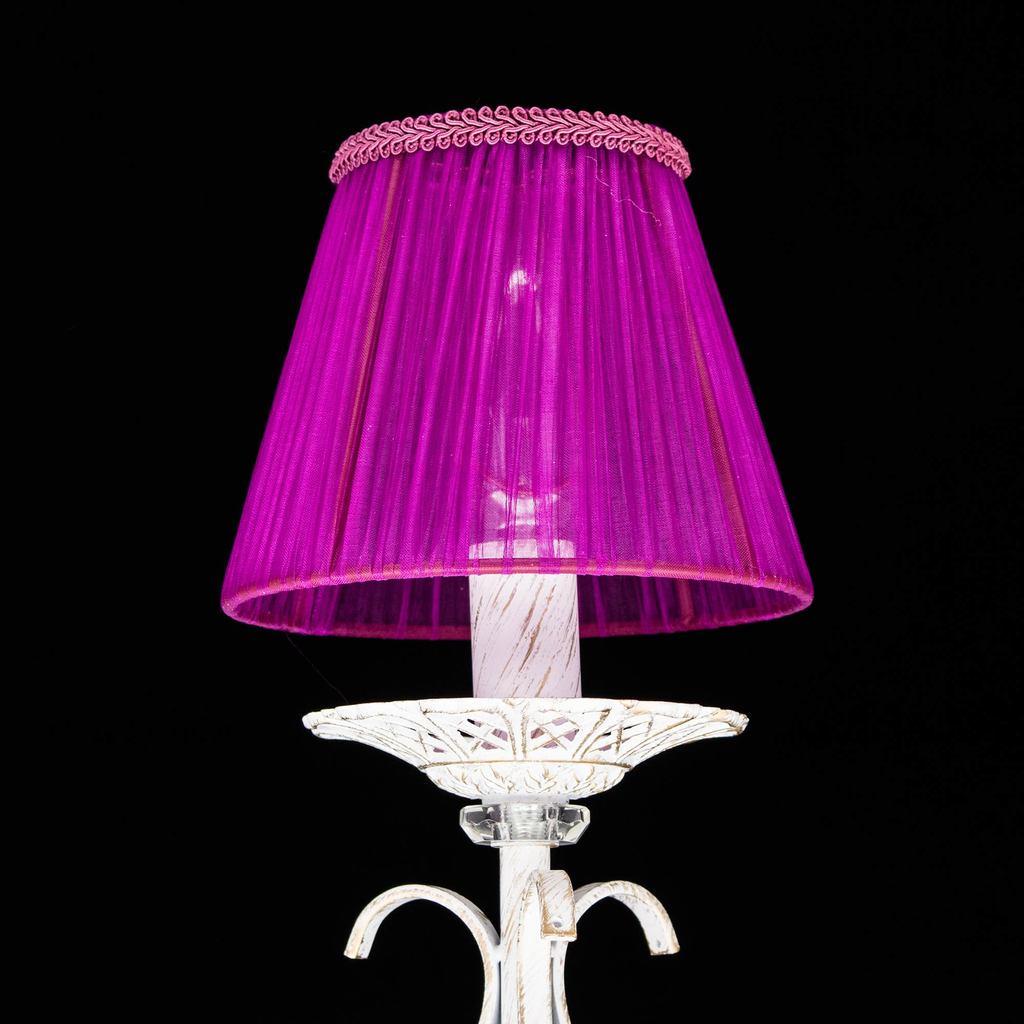 Абажур Citilux Марлен Джесси 116-051, фиолетовый, текстиль - фото 3