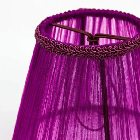 Абажур Citilux Марлен Джесси 116-051, фиолетовый, текстиль - миниатюра 4