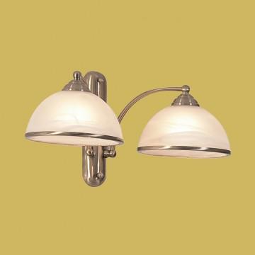 Бра Citilux Лугано CL403323, 2xE27x75W, бронза, белый, металл, стекло - миниатюра 3