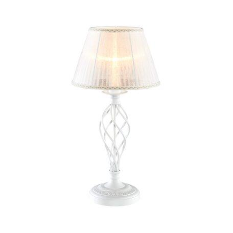 Настольная лампа Citilux Ровена CL427810, 1xE27x75W, белый, металл, текстиль