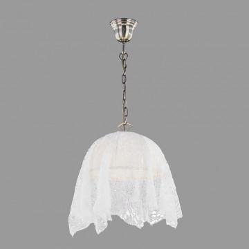 Подвесной светильник Citilux Базель CL407114, 1xE27x60W, бронза, бежевый, металл, текстиль - миниатюра 3