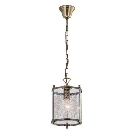 Подвесной светильник Citilux Версаль CL408113, 1xE27x75W, бронза, прозрачный, металл, стекло