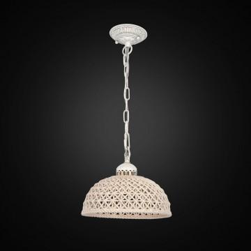 Подвесной светильник Citilux Трензадо CL415111, 1xE27x75W, белый, бежевый, металл, керамика - миниатюра 2