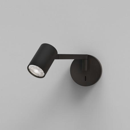 Бра с регулировкой направления света Astro Ascoli 1286088, 1xGU10x50W, черный, металл