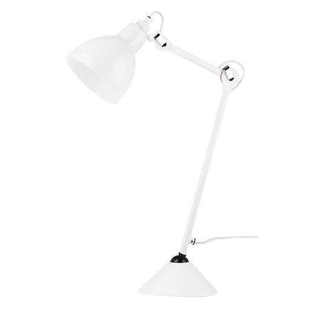 Настольная лампа Lightstar Loft 865916, 1xE14x40W, белый, металл, стекло