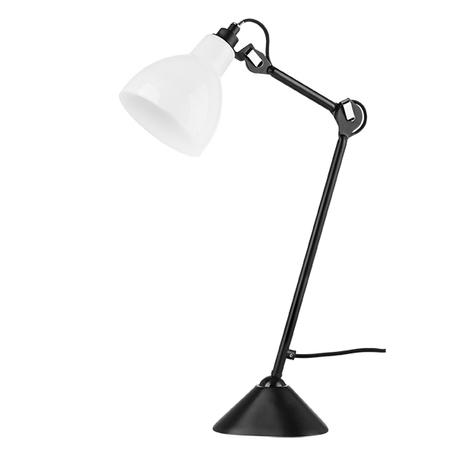 Настольная лампа Lightstar Loft 865917, 1xE14x40W, черный, белый, металл, стекло