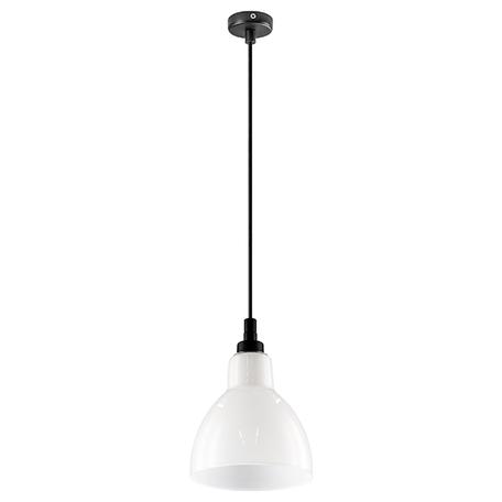 Подвесной светильник Lightstar Loft 865017, 1xE14x40W, черный, белый, металл, стекло