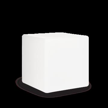 Садовый светильник Ideal Lux LUNA PT1 D50 191607, IP44, 1xE27x60W, белый, пластик