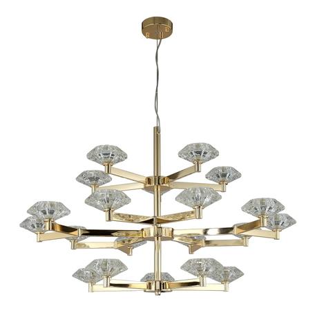 Светильник Crystal Lux REBECA SP5+10+5 GOLD 3541/320, 20xG9x40W