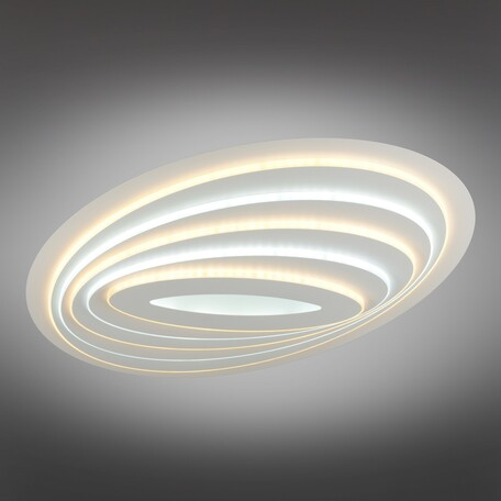 Потолочный светодиодный светильник с пультом ДУ Omnilux Pralormo OML-06707-160, LED 160W 3000-6400K