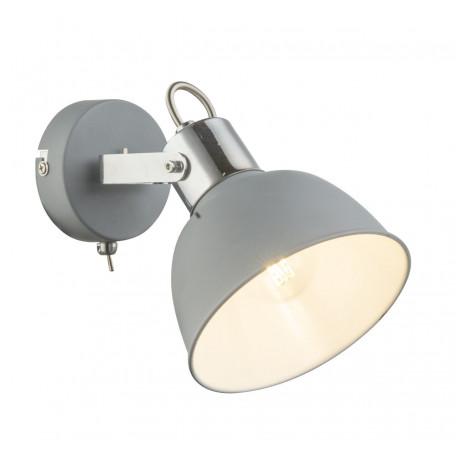 Настенный светильник с регулировкой направления света Globo Gerda 54640-1, 1xE14x25W, металл