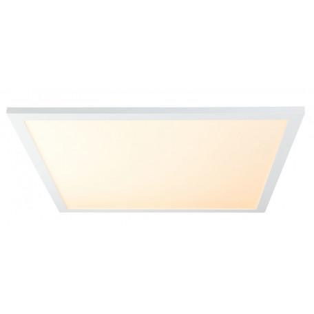 Потолочный светодиодный светильник с пультом ДУ Globo Rosi 41604D3F, LED 40W 3000-6000K, металл, пластик