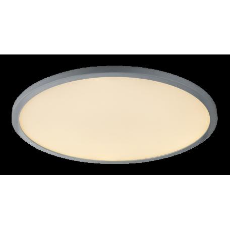 Потолочный светодиодный светильник с пультом ДУ Globo Sabi 41639-60, LED 60W 3000-6000K, металл, пластик