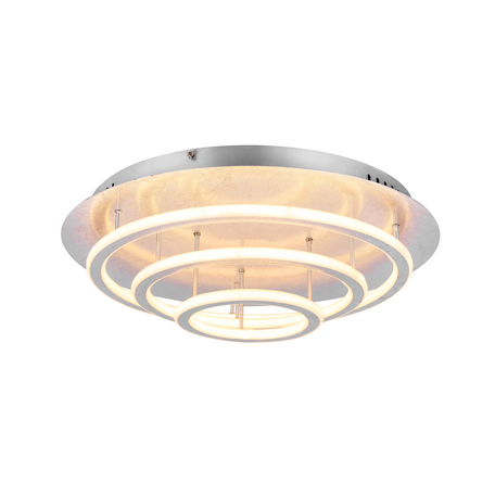 Потолочный светодиодный светильник с пультом ДУ Globo Arryn 49252-100S, LED 90W, металл, металл с пластиком