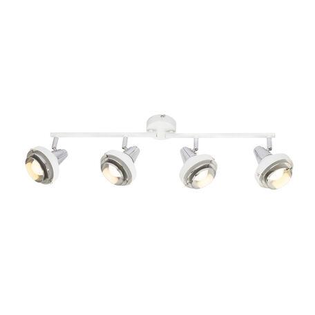 Потолочный светильник с регулировкой направления света Globo Rorge 54301-4, 4xE14x15W, металл
