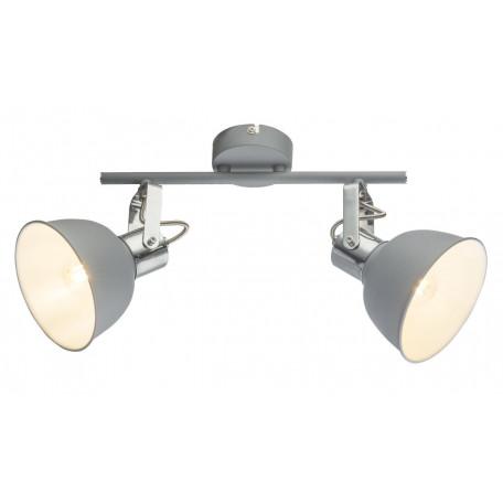 Потолочный светильник с регулировкой направления света Globo Gerda 54640-2, 2xE14x25W, металл