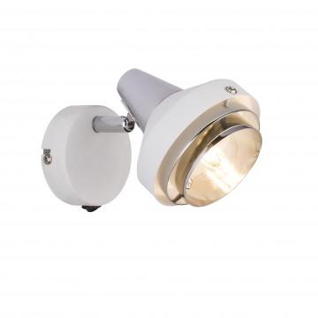 Настенный светильник с регулировкой направления света Globo Rorge 54301-1, 1xE14x15W, металл