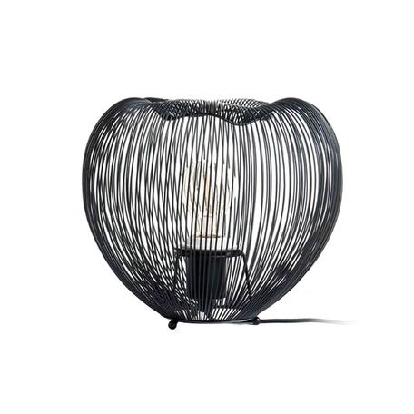 Настольная лампа Zumaline Cage TL-15012-BK, 1xE27x40W, черный, металл