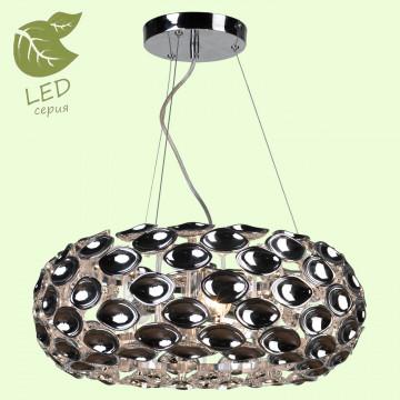 Подвесная люстра Lussole LGO Idaho GRLSP-0170, IP21, 3xE14x6W, хром, металл, пластик