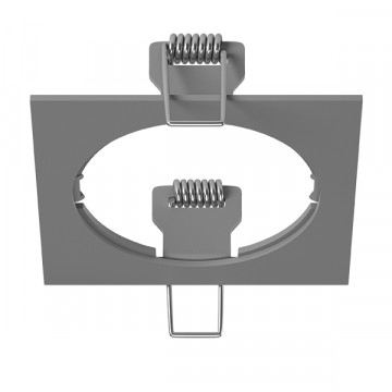 Декоративная рамка Lightstar Intero 16 217519, серый, металл