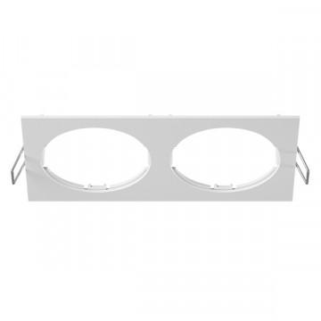 Декоративная рамка Lightstar Intero 16 217526, белый, металл
