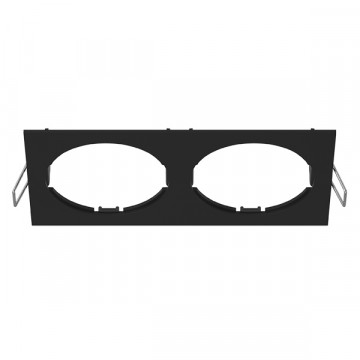 Декоративная рамка Lightstar Intero 16 217527, черный, металл