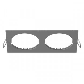 Декоративная рамка Lightstar Intero 16 217529, серый, металл