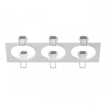Декоративная рамка Lightstar Intero 16 217536, белый, металл