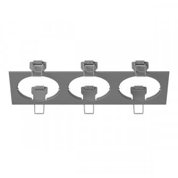 Декоративная рамка Lightstar Intero 16 217539, серый, металл