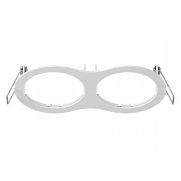 Декоративная рамка Lightstar Intero 16 217626, белый, металл