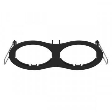 Декоративная рамка Lightstar Intero 16 217627, черный, металл