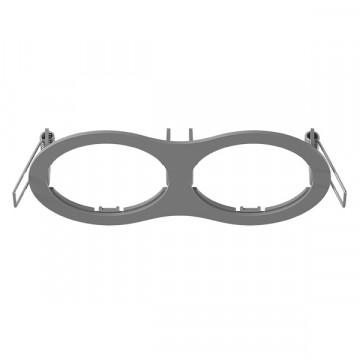 Декоративная рамка Lightstar Intero 16 217629, серый, металл