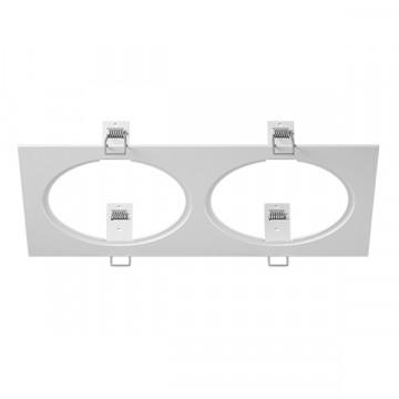 Декоративная рамка Lightstar Intero 111 217826, белый, металл
