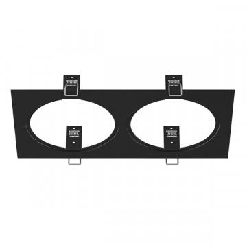 Декоративная рамка Lightstar Intero 111 217827, черный, металл
