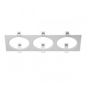 Декоративная рамка Lightstar Intero 111 217836, белый, металл