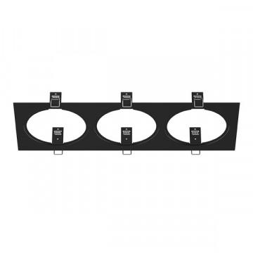 Декоративная рамка Lightstar Intero 111 217837, черный, металл