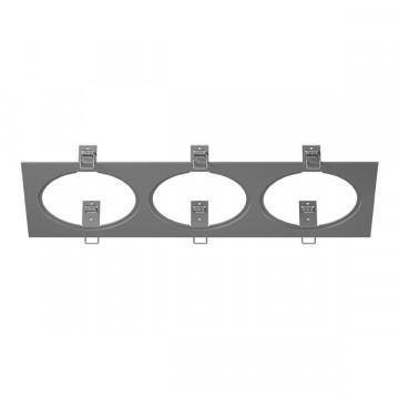 Декоративная рамка Lightstar Intero 111 217839, серый, металл