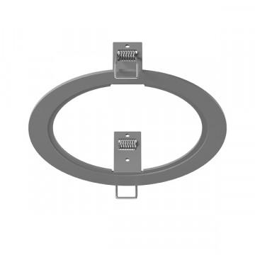 Декоративная рамка Lightstar Intero 111 217919, серый, металл