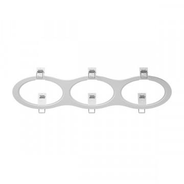 Декоративная рамка Lightstar Intero 111 217936, белый, металл