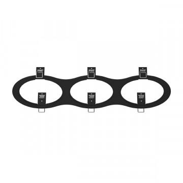 Декоративная рамка Lightstar Intero 111 217937, черный, металл