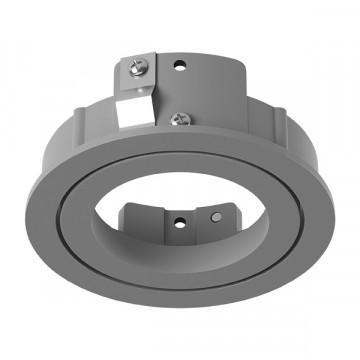 Встраиваемый светильник Lightstar Intero 16 217609, 1xGU10x50W, серый, металл