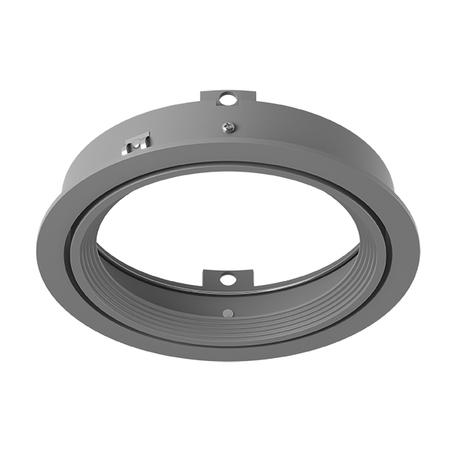 Встраиваемый светильник Lightstar Intero 111 217909, 1xAR111x50W, серый, металл