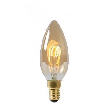 Филаментная светодиодная лампа Lucide 49043/03/62 E14 3W 2200K (теплый)
