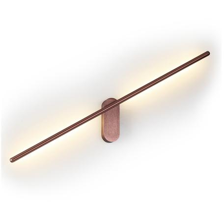 Настенный светодиодный светильник Odeon Light Mill 3858/12WC 3000K (теплый), медь, металл