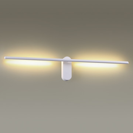 Настенный светодиодный светильник Odeon Light Mill 3858/12WW, LED 12W 3000K 710lm, белый, металл