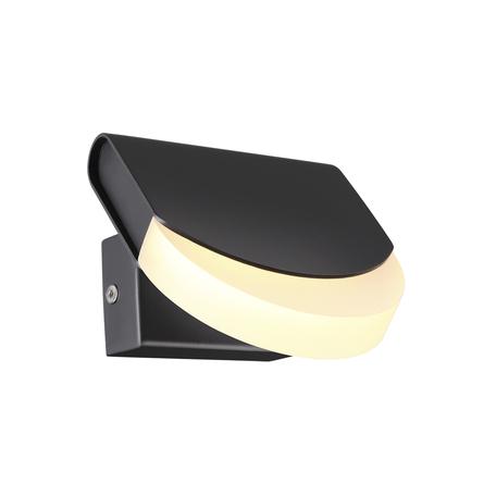 Настенный светодиодный светильник с регулировкой направления света Odeon Light L-Vision Rebel 3861/6WB, LED 6W 3000K 390lm, черный, металл, пластик