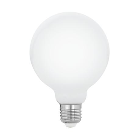 Филаментная светодиодная лампа Eglo 11771 шар малый E27 7W, 2700K (теплый) CRI>80, гарантия 5 лет